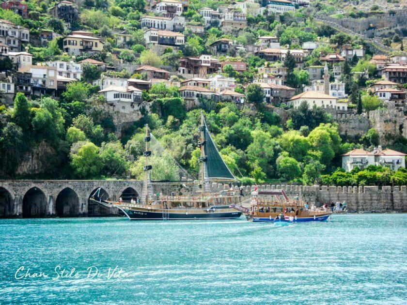 Op vakantie in Turkije